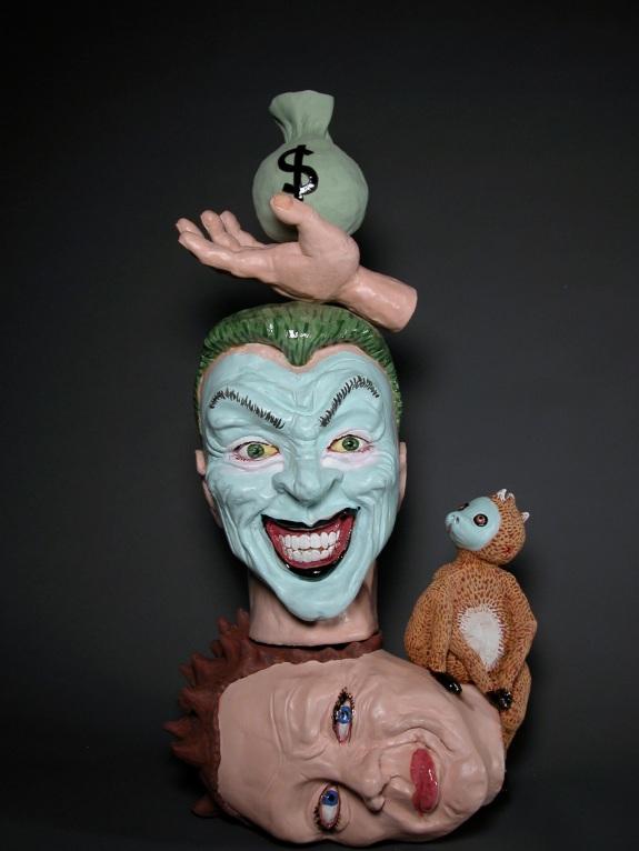 The Joker, by Lee Puffer