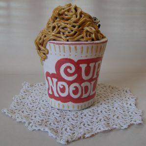 """""""CupNoodle"""", Ceramic."""