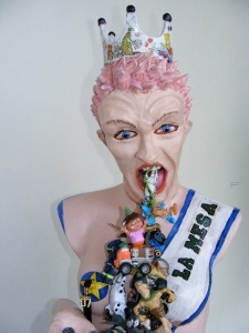 "Lee Puffer ""Miss La Mesa"" 2011. Private collection."