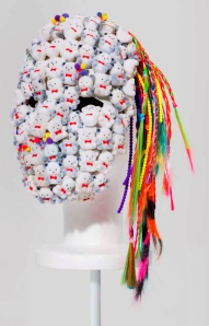 "Miley Cyrus sculpture from ""Dirty Hippie"" courtesy of V Magazine"