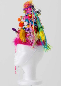 "Miley Cyrus sculpture from ""Dirty Hippie"" courtesy of V Magazine."