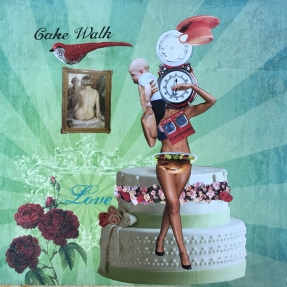 """CakeWalk,by Lee Puffer. paper 12""""x12"""""""
