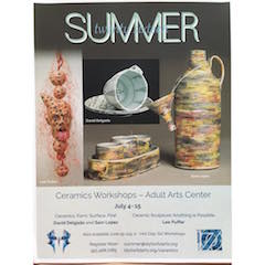 Reaserve your spot in my two-week ceramics intensive in the beautiful mountains of Idyllwild California. This summer, July 4-15, 2016. Register at www.idyllwildarts.org/ceramics