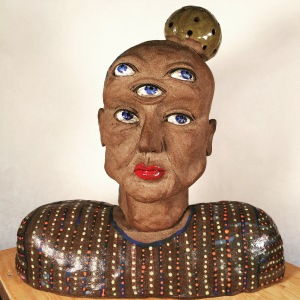 Ceramic Sculpture, by Lee Puffer