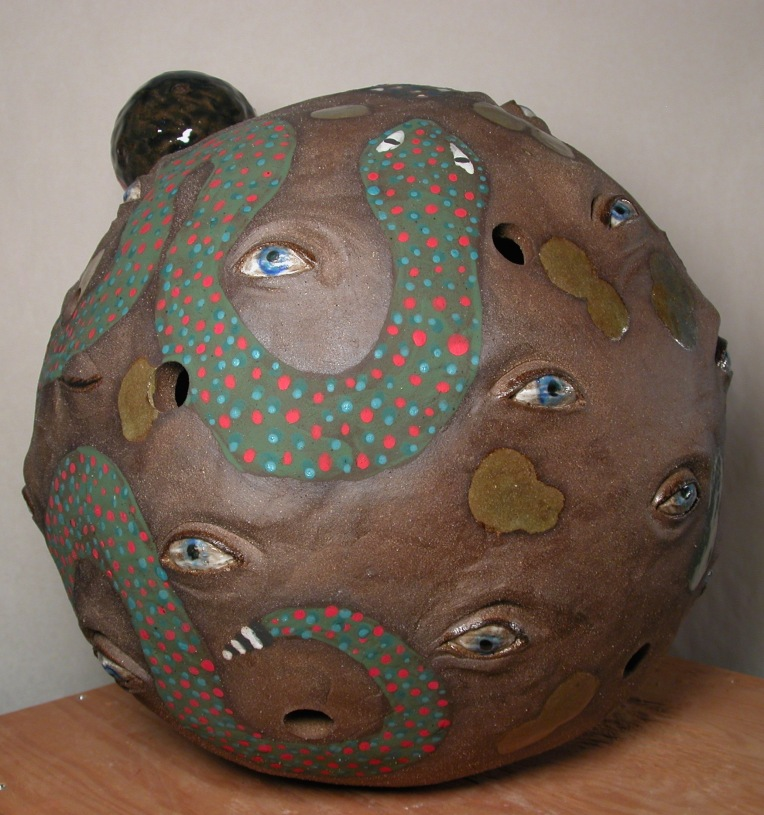 ceramic scuplture
