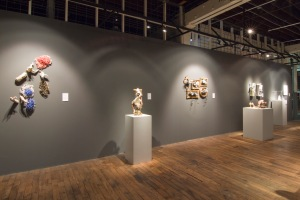 Installation view, Belger at Center, Kansas City.